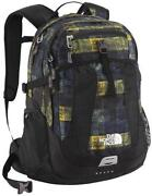 North Face Backpack Plaid