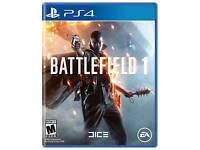 Ps4 Battlefield 1 like new