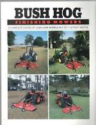 Bush Hog Finish Mower