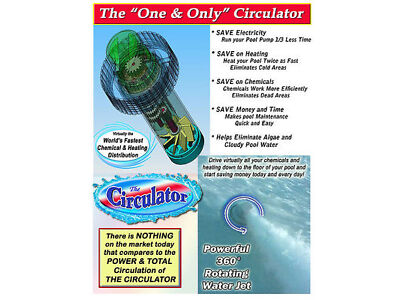 The Circulator 2-PACK COMBO, pool water circulator, for Intex & Easy Set pools