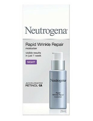 Neutrogena Rapid Wrinkle Repair Night Moisturizer (New in Box)