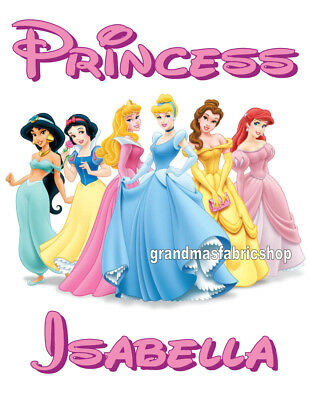 New Disney Princess Personalized T Shirt Party Favor Birthday Present Gift](Personalized Disney Princess Gifts)