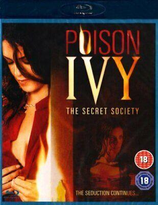 POISON IVY THE SECRET SOCIETY Blu-ray Miriam McDonald Brand New and Sealed UK
