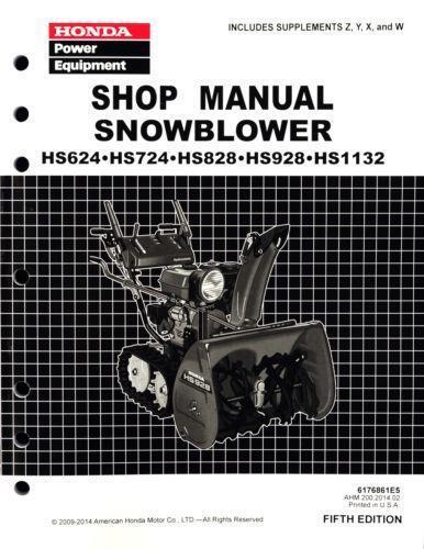 Honda Hs624 Snowblower