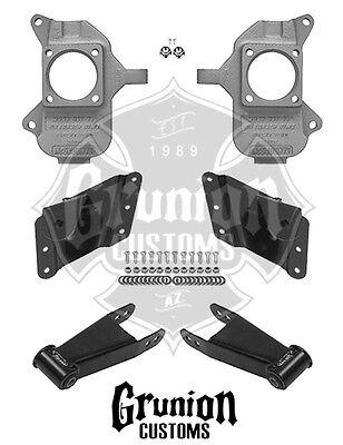 Chevy Silverado 3500 HD Dually 2/4 Lowering Kit Dually 2002-2010 McGaughys 33079
