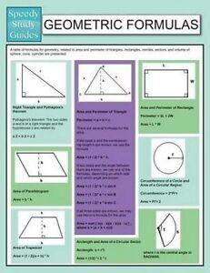 Geometric Formulas (Speedy Study Guide) by Publishing LLC, Speedy 9781634289658