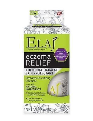 Elaj Eczema Relief Colloidal Oatmeal Skin Protectant Intensive Moisturizing