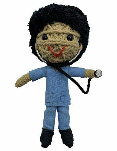 Kamibashi Scrubs The Doctor Boy Original String Doll Gang Keychain Clip