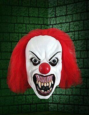 Non Evil Halloween Costumes (Adulto Ringhiante Evil Terror Maschera da Clown Costume Halloween)