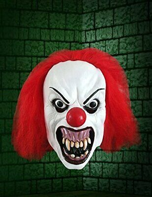 vil Terror Clown Maske Halloween Kostüm Zubehör (Clown Kostüm Zubehör Erwachsene)