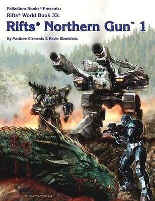 Rifts RPG: World Book Northern Gun 1 PAL 0887