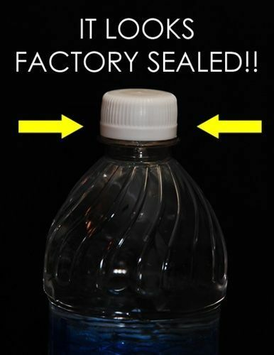 Sneak Alcohol Caps Reseal Your Water Bottle Perfectly for Aquafina 20oz 12pc