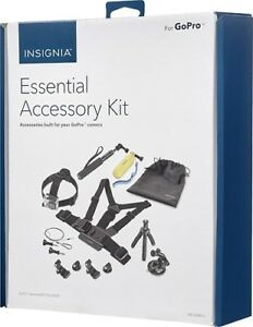 Insignia Essential 10 Piece Accessory Kit for GoPro