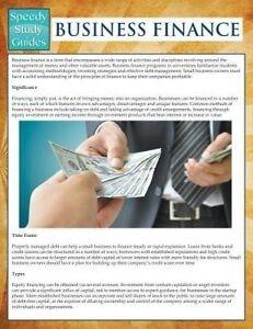 Business Finance (Speedy Study Guides) by Publishing LLC, Speedy -Paperback