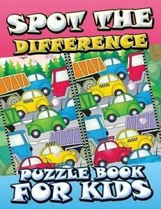 NEW Spot The Difference Puzzle Book For Kids by Speedy Publishing LLC