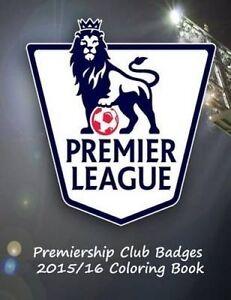 Premier League Club Logos Coloring Book on Premier League Cl by Carney S J