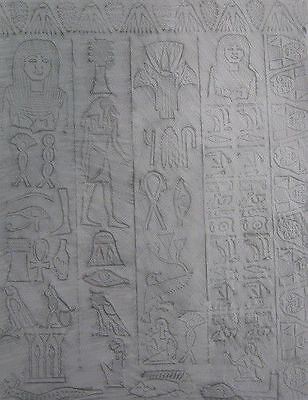 Texture plates Egyptian Polymer Clay patterns Craft Full Page Rubbing Plates fnt