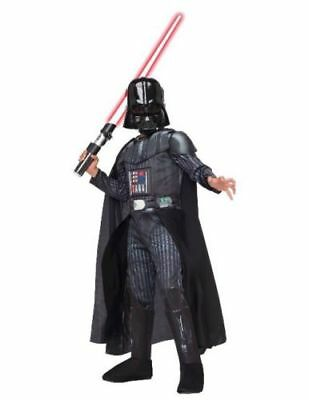 Darth Vader Child Costume Small Jumpsuit Mask Star Wars Dress Up Halloween Boy](Darth Vader Mask Kids)