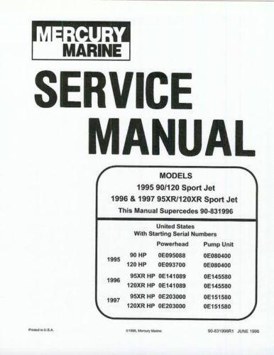 1994 sea rayder Service manual