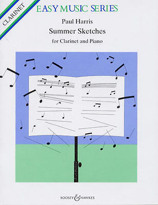 Summer Sketches  CLARINET (Clarinet And Piano)