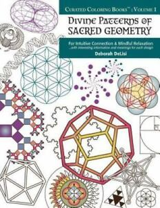 Curated Coloring Books(tm): Divine Patterns of Sacred Geometry ...