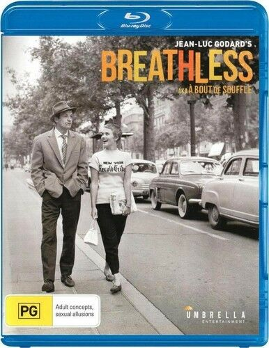 Breathless (2014, REGION ALL Blu-ray New)