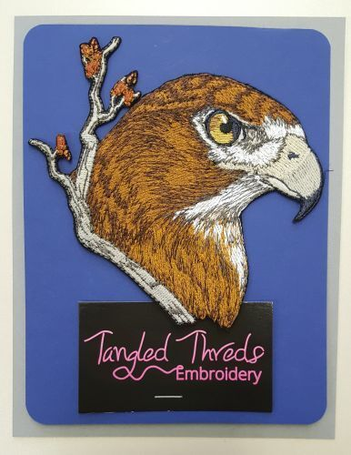 """Red-Tailed Hawk, Embroidered Patch 5.2"""" x 5"""" FREE USA SHIPPING"""