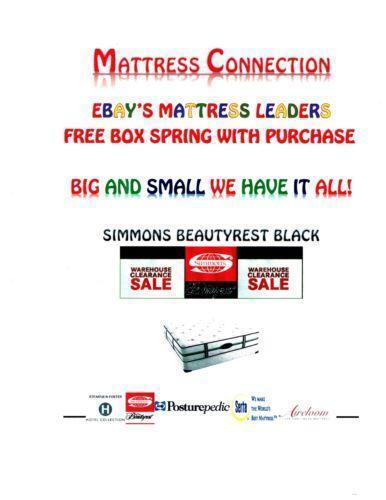 Simmons Beautyrest Mattress King Ebay