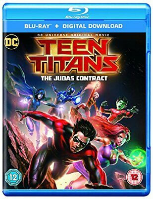 Teen Titans Judas Contract [Blu-ray + Digital Download] [2016] [DVD][Region 2]