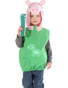 SPECIAL OFFER VMC  GEORGE PEPPA PIG FANCY DRESS COSTUME 2/4 YEARS PLUSH