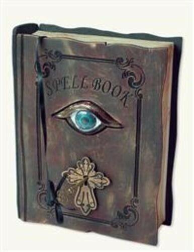 Victorian Trading Co Hocus Pocus Trembling Spellbook Halloween Witch Spells New