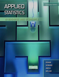 APPLIED STATISTICS IN BUSINESS AND ECONOMICS W/Access Code & CD