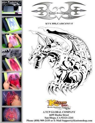 Airbrush Stencils Dragon Ebay