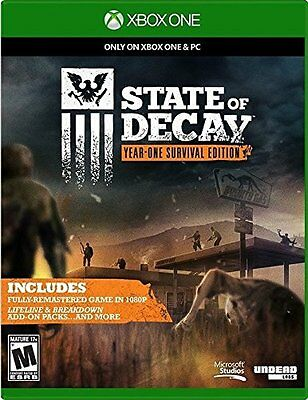 New State Of Decay  Year One Survival Edition Microsoft Xbox One