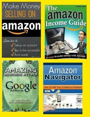 The Amazon Income Guide Bundle (eBook-PDF file) 12 Items Included