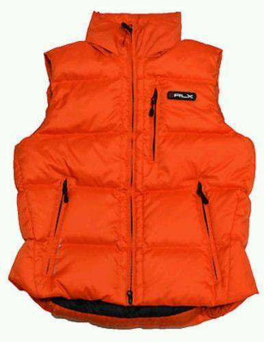 Orange Puffer Vest Ebay