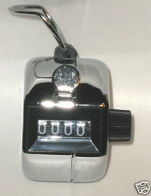 Metal Tally Counter Hand Cell Golf Clicker Number Score Free Shipping From Us