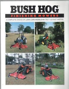 Bush Hog Mower Ebay