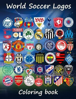 World Soccer Logos: World football team badges of the best clubs in the world,