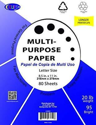 Multi-purpose Paper 80 Sheets Case Pack Of 60 Ideal For Bulk Buyers