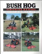Bush Hog Tractor