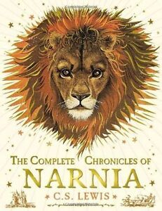 The-Complete-Chronicles-of-Narnia-C-S-LEWIS-New-Hardback-Book-Colourd