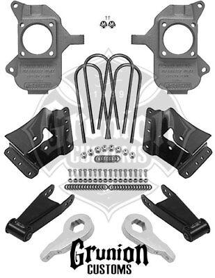 "McGaughys 3"" / 5"" Lowering Kit 2002 - 2010 Chevy GMC Dually 2WD 33077"