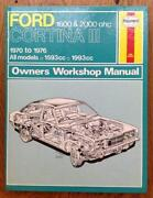 Ford Cortina Haynes Manual