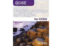 English Tutor GCSE CCEA/ KS3 support MOIRA