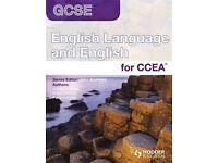 English Tutor GCSE CCEA/ KS3 support MOIRA