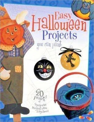 Easy Halloween Projects You Can Paint by Robyn Thomas and Margaret Wilson   (M5) - Halloween Paint Projects