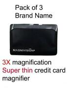 Credit Card Magnifying Glass
