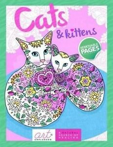 Cats and Kittens by Art Unplugged -Paperback