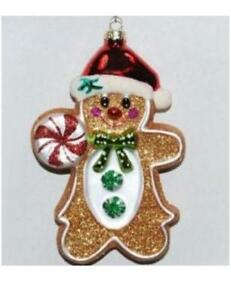 radko gingerbread ornament - Gingerbread Christmas Decorations